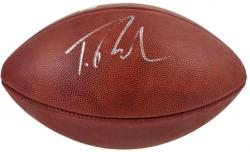 Trent Richardson Autographed Duke Pro Football