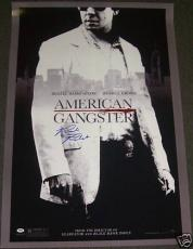 Richie Roberts Signed American Gangster Poster PSA/DNA
