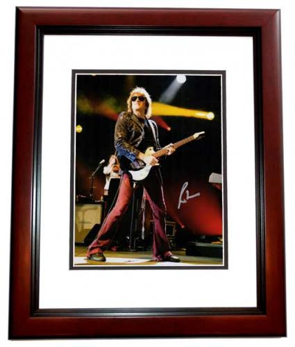 Richie Sambora Signed - Autographed BON JOVI 11x14 inch Photo MAHOGANY CUSTOM FRAME - Guaranteed to pass PSA or JSA