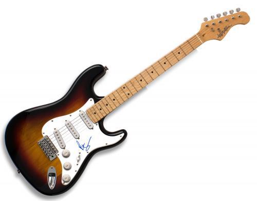 Richie Sambora Autographed Signed Sunburst Guitar RACC TS UACC RD AFTAL