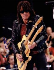 Richie Sambora Bon Jovi Autographed Signed 11x14 Photo Authentic PSA/DNA AFTAL