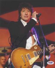 Richie Sambora Bon Jovi Autographed Signed 8x10 Photo Certified PSA/DNA COA