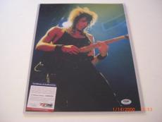 Richie Sambora Bon Jovi Band Psa/dna Signed 11x14 Photo
