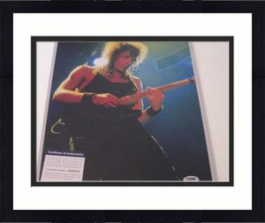 Richie Sambora Bon Jovi Band Psa/dna Signed 11x14 Photo