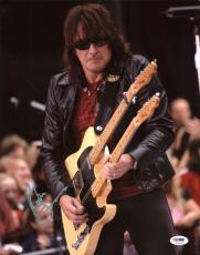 Richie Sambora Bon Jovi Signed 11X14 Photo Autographed PSA/DNA #T13143