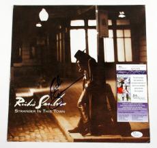 Richie Sambora Signed Album Promo Card Stranger in This Town JSA AUTO