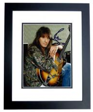 Richie Sambora Signed - Autographed BON JOVI Guitarist 8x10 Photo BLACK CUSTOM FRAME
