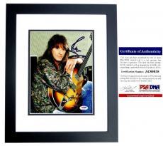Richie Sambora Signed - Autographed BON JOVI Guitarist 8x10 Photo BLACK CUSTOM FRAME with PSA/DNA Authenticity