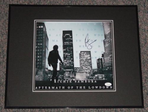 Richie Sambora Signed Framed 16x20 Photo Poster Display JSA Bon Jovi