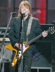 Richie Sambora signed Jon Bon Jovi Guitarist 8x10 photo w/coa