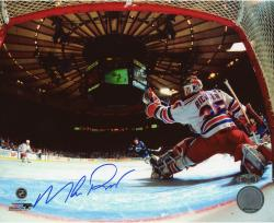 "Mike Richter New York Rangers Autographed 8"" x 10"" vs. Washington Capitals Photograph"
