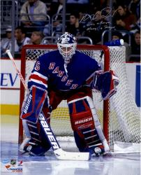 Signed Mike Richter 16x20 Photo - Once a Ranger, Always a Ranger