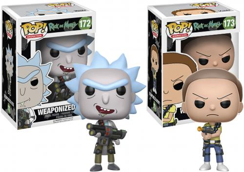 Rick and Morty Funko Pop! Bundle