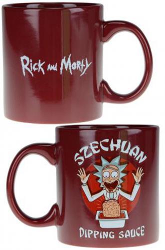 Rick and Morty Szechuan Dipping Sauce Mug