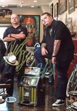 Rick Harrison & Corey Harrison Pawn Stars Signed 7x10 Photo BAS D06702