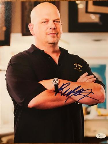 Rick Harrison (Pawn Stars) signed 11x14 photo -JSA #I61511