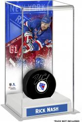 Rick Nash New York Rangers Deluxe Tall Hockey Puck Case