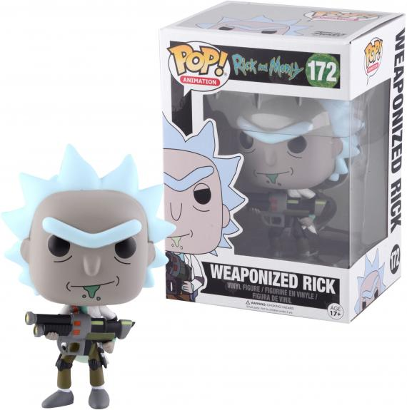 Rick Sanchez Rick and Morty #172 Weaponized Funko Pop!