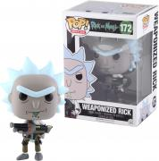 Rick Sanchez Rick and Morty #172 Weaponized Funko Pop!