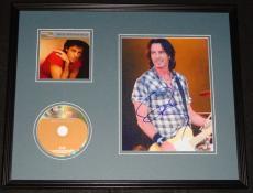 Rick Springfield Signed Framed 16x20 CD & Photo Display