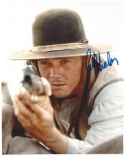 "RICKY SCHRODER as NEWT DOBBS in ""LONESOME DOVE"" Signed 8x10 Color Photo"