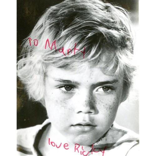 Ricky Schroder Autographed 3x5 Photo