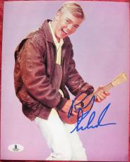 Ricky Schroder signed 8x10 photo Silver Spoons Beckett BAS Authentic auto