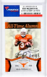 Ricky Williams Autographed University Of Texas Longhorns 2011 Upper Deck #ATA-WI Card
