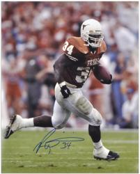 "Ricky Williams Texas Longhorns Autographed 16"" x 20"" Photograph - Mounted Memories"