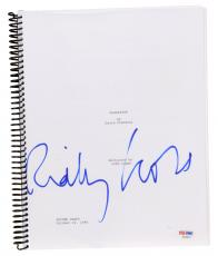 Ridley Scott Autographed Gladiator Replica Movie Script - PSA/DNA COA