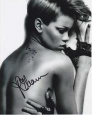 Rihanna Signed - Autographed Sexy Singer 8x10 Photo