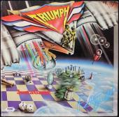 Rik Emmett Triumph Just A Game Signed Album Cover W/ Vinyl PSA/DNA #T51404