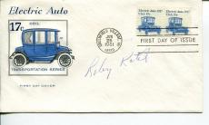 Riley Kotil AAGPBL Chicago Colleens South Bend Blue Sox Signed Autograph FDC