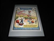 Ringling Brothers Barnum & Bailey Circus LaRoche Framed 10x14 Poster