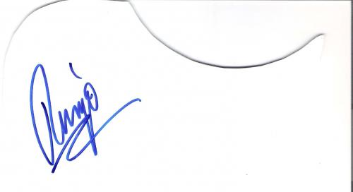 RINGO STARR (Joined THE BEATLES 1962 as DRUMMER) Signed RINGO on GUITAR PIC GUARD