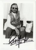 Ringo Starr signed autographed 4x5.5 photo! The Beatles! RARE! Beckett BAS COA!