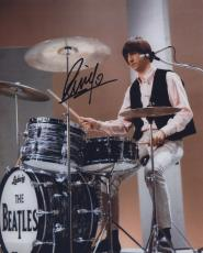 RINGO STARR SIGNED AUTOGRAPHED COLOR 8x10 PHOTO THE BEATLES