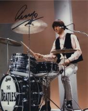 Ringo Starr Signed Autographed Color Photo Jsa James Spence Coa The Beatles