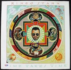 Ringo Starr Signed Autographed Promotional Album Flat PSA/DNA