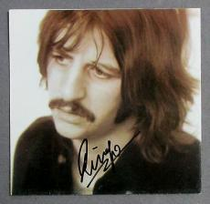 Ringo Starr Signed CD Insert with 3-Letters of Authenticity {Beatles} JSA/LOA