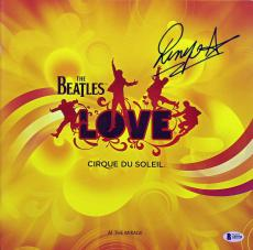 Ringo Starr Signed The Beatles Love Cirque Du Soleil Program BAS #A85706