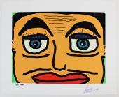 Ringo Starr The Beatles Signed 17X21 Lmt Ed 8/100 Litho PSA #X03611