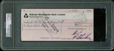Ringo Starr The Beatles Signed 3.5x8 1973 Check PSA/DNA Slabbed