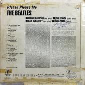 Ringo Starr The Beatles Signed Please Please Me Album Cover BAS #A81093
