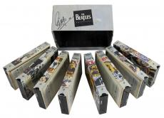 Ringo Starr The Beatles Signed The Beatles Anthology VHS Box Set BAS #A06759