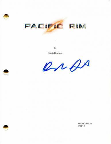 Rinko Kikuchi Signed Autograph - Pacific Rim Full Movie Script - Idris Elba