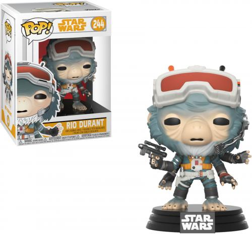 "Rio Durant Star Wars ""Solo"" #244 Funko Pop!"