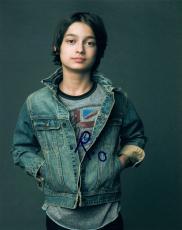 Rio Mangini Signed Autographed 8x10 Photo Kickin It Teen Wolf COA