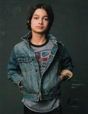 Rio Mangini signed Teen Wolf Kickin' It TV Star 8x10 autographed photo w/coa #2