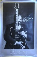 Autographed B.B. King Photo - R.I.P BB CLASSIC Lucille 24x36 Poster PSA DNA LOA Proof